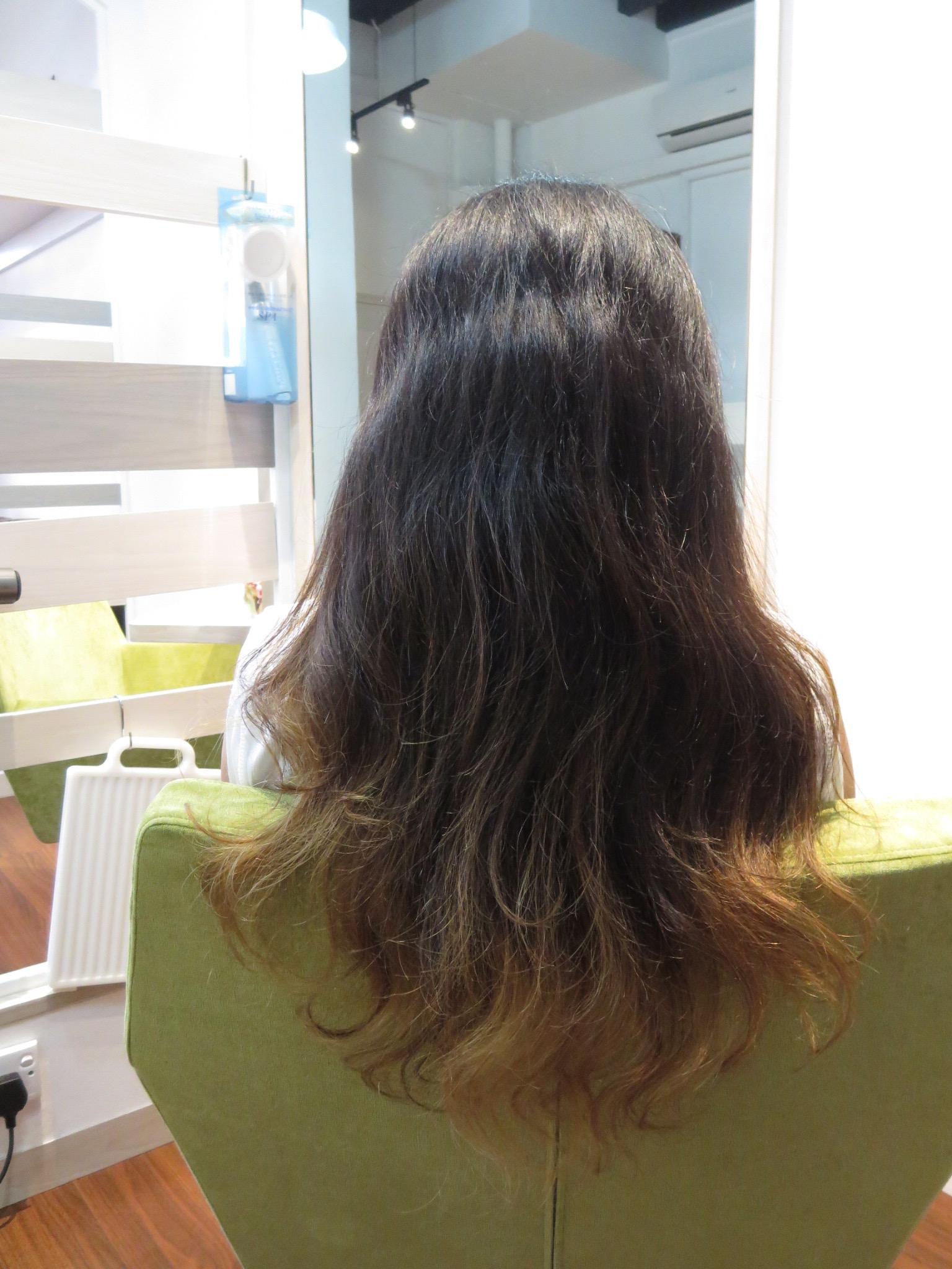 Frizzy Hair No More After My Keratin Treatment Carmen Natasha